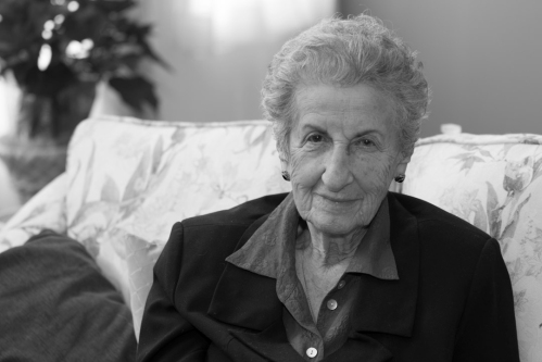 Eva Olsson, Holocaust Survivor.